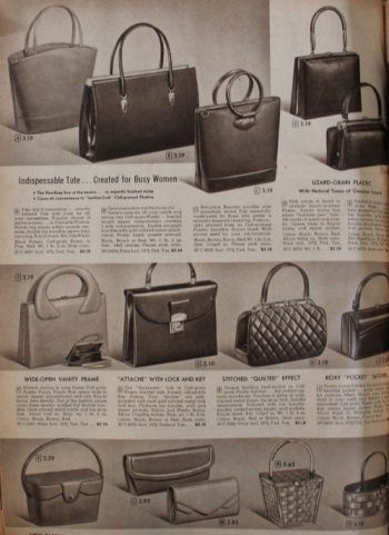 612b6410b456e0 1950s Handbags, Purses, and Evening Bag Styles | 1950s Fashion ...