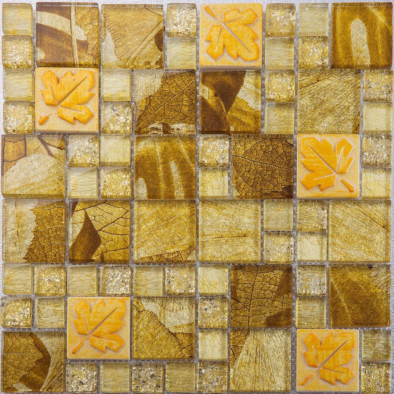 Gold hotel lobby luxury mosaic tile | Tile Design for Middle East ...