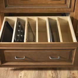 Kitchen Baking Pan And Sheet Storage Home Organization Home Decor