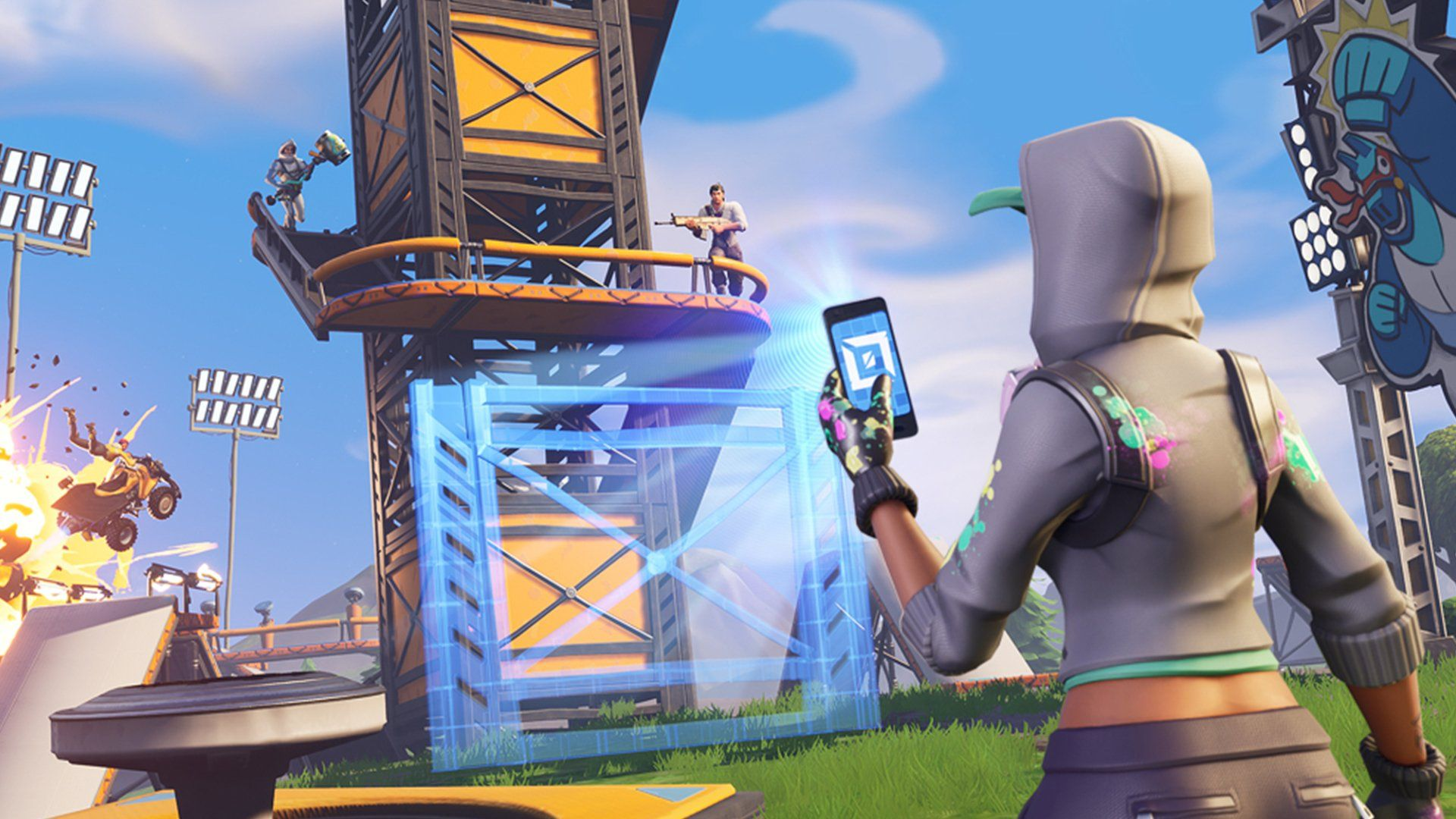 5 Amazing Fortnite Creative Mode Maps With So Many Amazing Fortnite Creative Maps Being Made We Had To Try And Pick 5 We Thin Fortnite Knight Outfit Epic Games