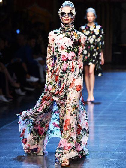 Die Kollektionen der Designer Domenico Dolce und Stefano Gabbana stehen für den sinnlichen, aber auch lauten und bunten italienischen Lebensstil.