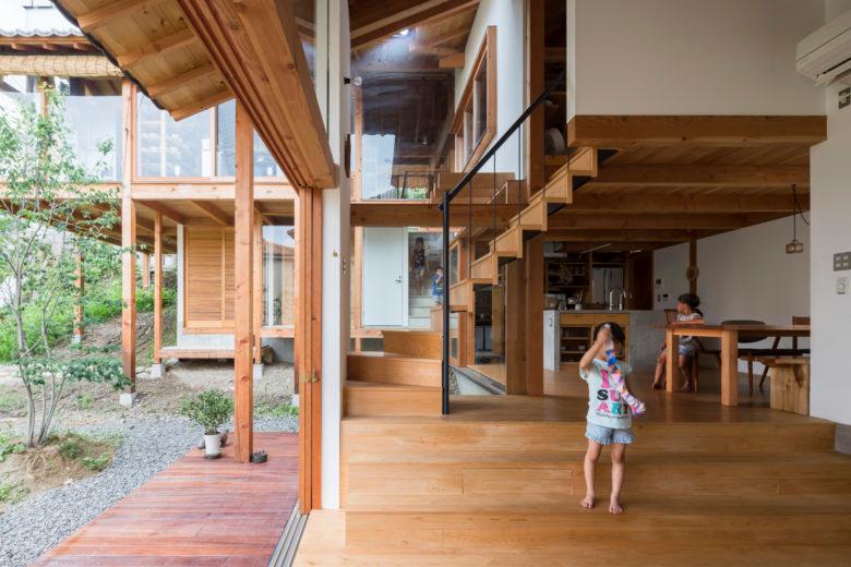 とのま一級建築士事務所 八田家住宅 House Room Divider Home