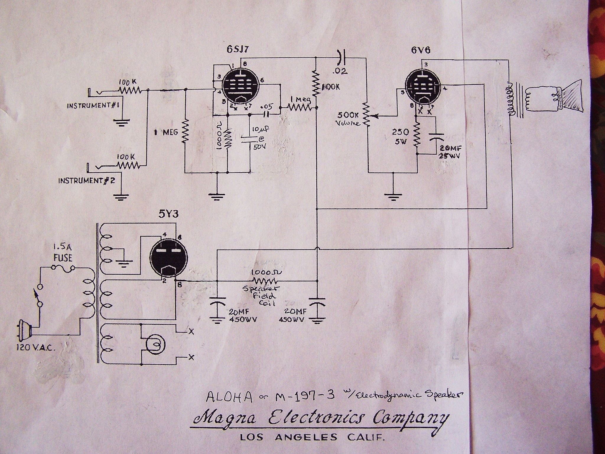 6sj7 amp in 2019 vacuum tube  electronics  circuit diagram