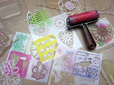 Printing with Gelli Arts®: Gelli® Printing, Planners & Travel Totes!