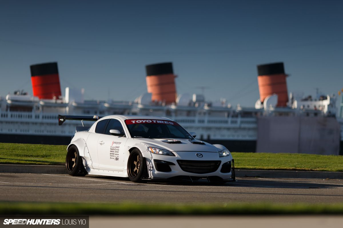 Deadline Set Taking An Rx 8 From Stock To Sema Speedhunters In 2020 Mazda Mazda Rx7 New Cars
