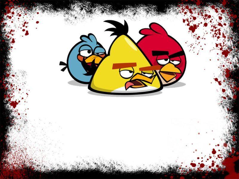 Angry Birds Bird Invitation Free Printable Invitations Templates Free Invitation Templates