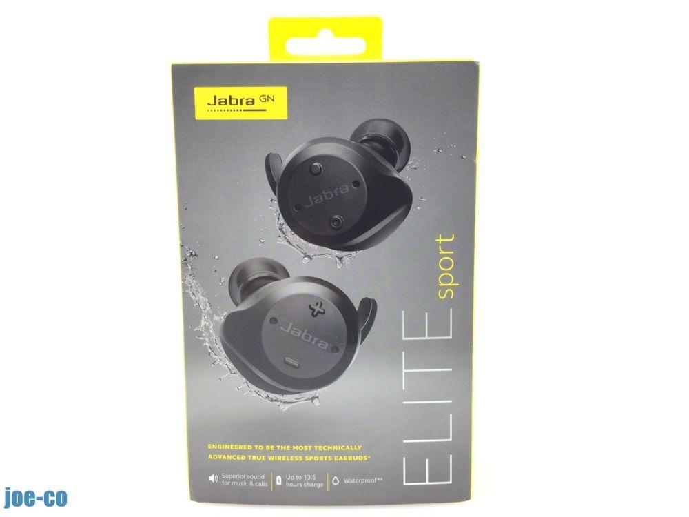 eBay  Sponsored Jabra Elite Sport True Wireless Earbud Headphones Black 3b3fe4955c60