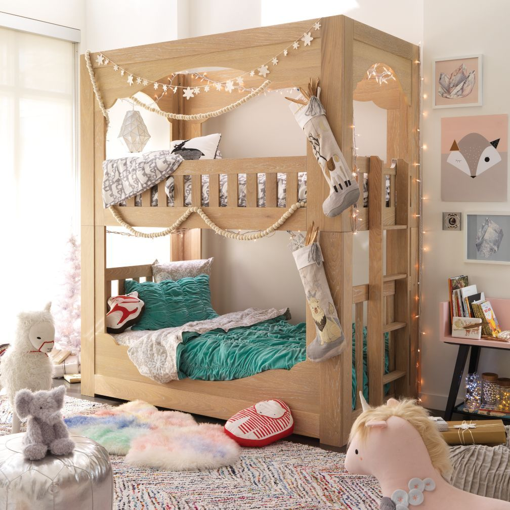 Terrace Bunk Bed The Land Of Nod Bunk Bed Designs Bunk Beds