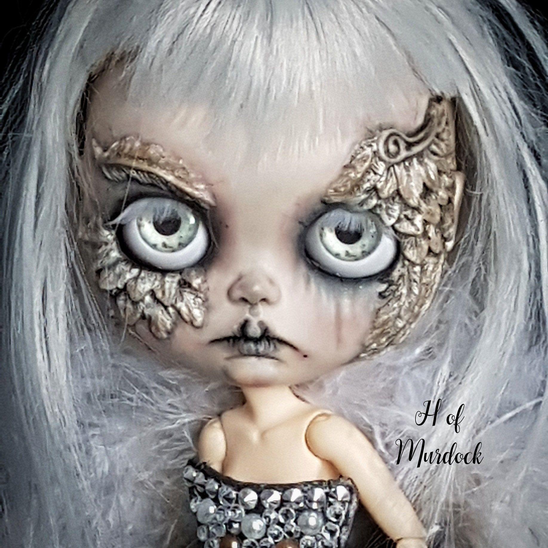 Blythe Sabrina The Witch Custom Blythe Doll