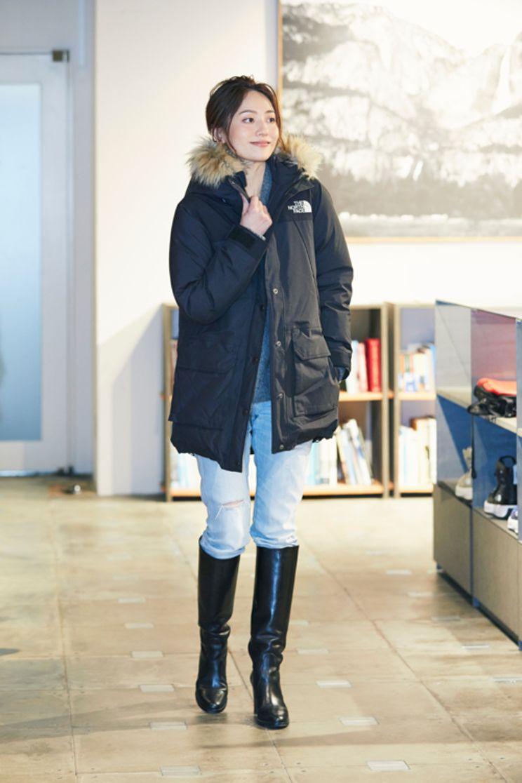 編集部 pick up mi mollet ミモレ 明日の私は もっと楽しい ファッション ノースフェイス レディース ジーンズとブーツ