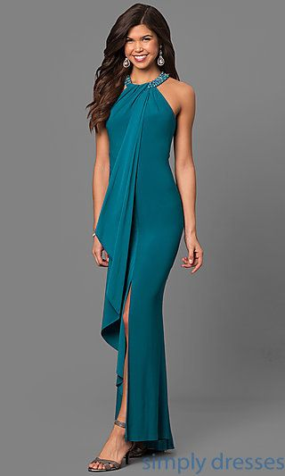 Teal Cocktail Dress