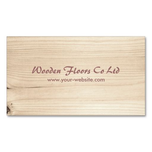 Wooden Business Cards. This great business card design is available for customization. All text style, colors, sizes can be modified to fit your needs. Just click the image to learn more!
