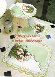 Resultado de imagem para riscos pintura em tecido jogo de banheiro emborrachado