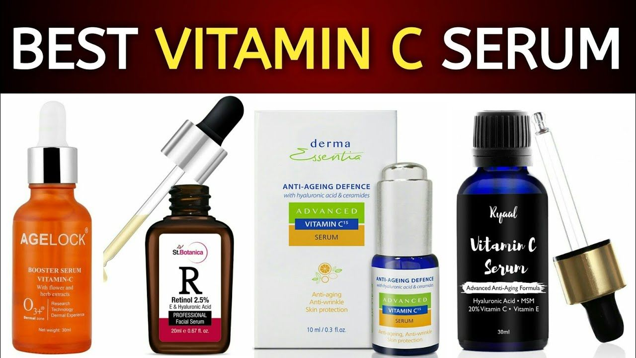 Best Vitamin C Serums For Face In India With Prices 2018 Best