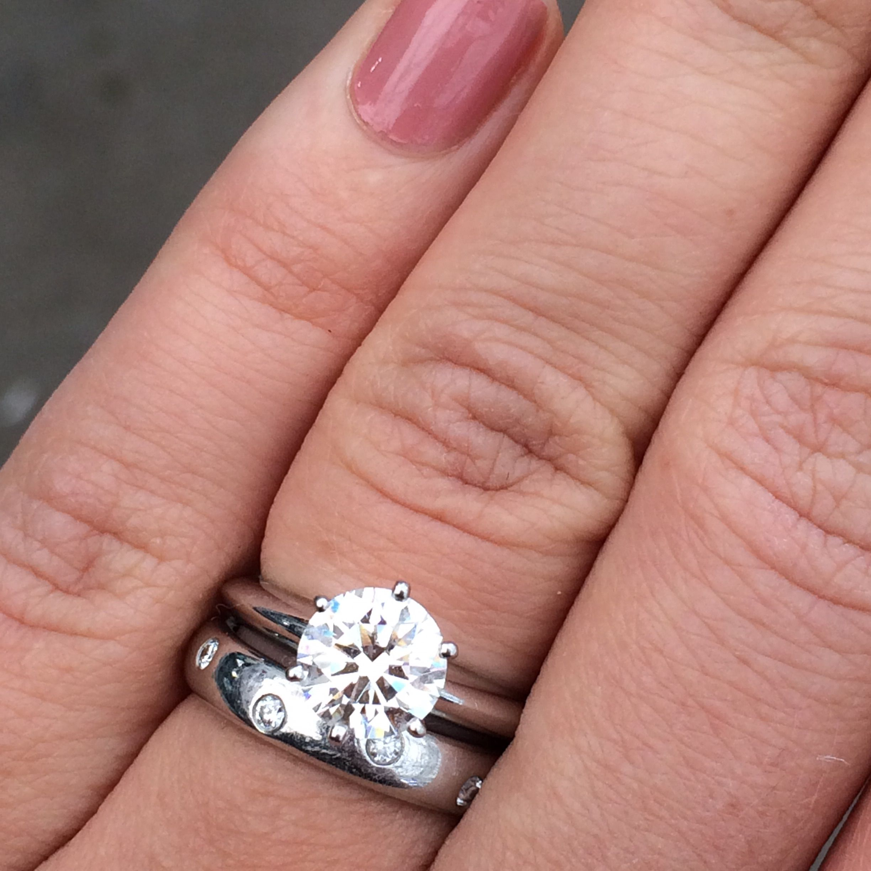 image1040 | engagement rings + wedding bands | Pinterest ...