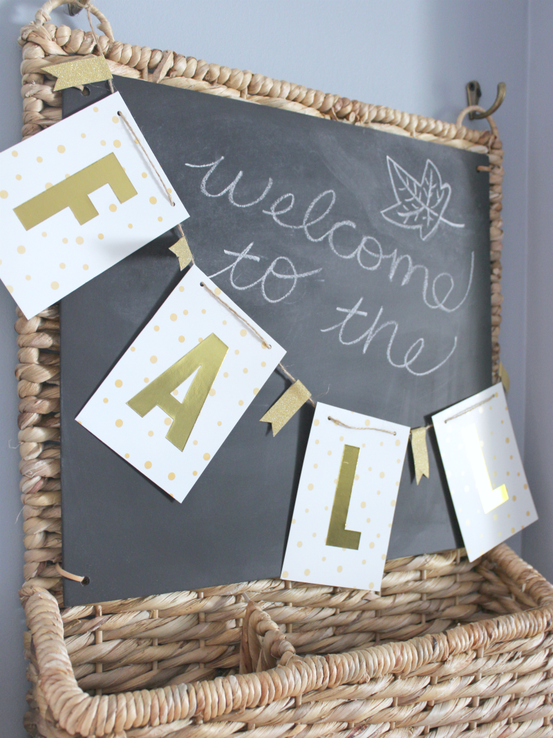 """SIMPLE """"FALL"""" BANNER"""