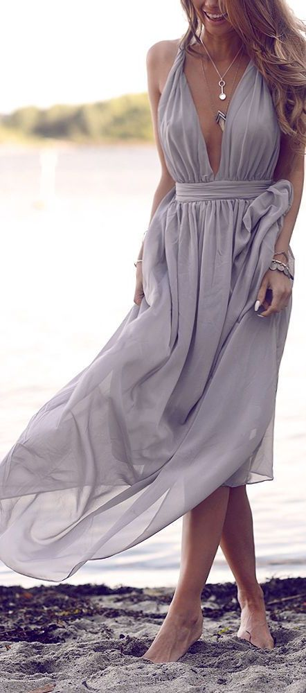 92acffb0497e Beach dress | My Style | Dresses, Wedding attire, Long bridesmaid ...