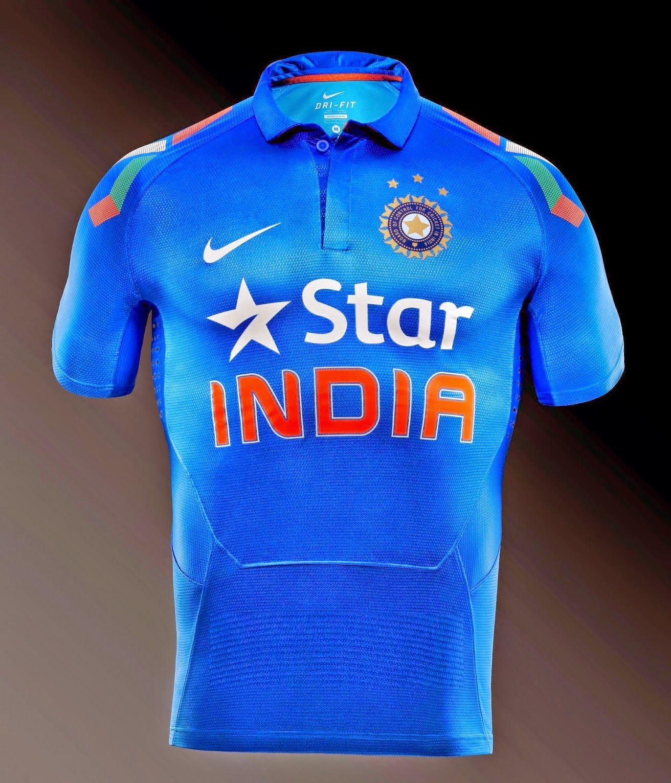 India S Cricket World Cup 2015 Kit Jersey Cricket World Cup Team Jersey Star India