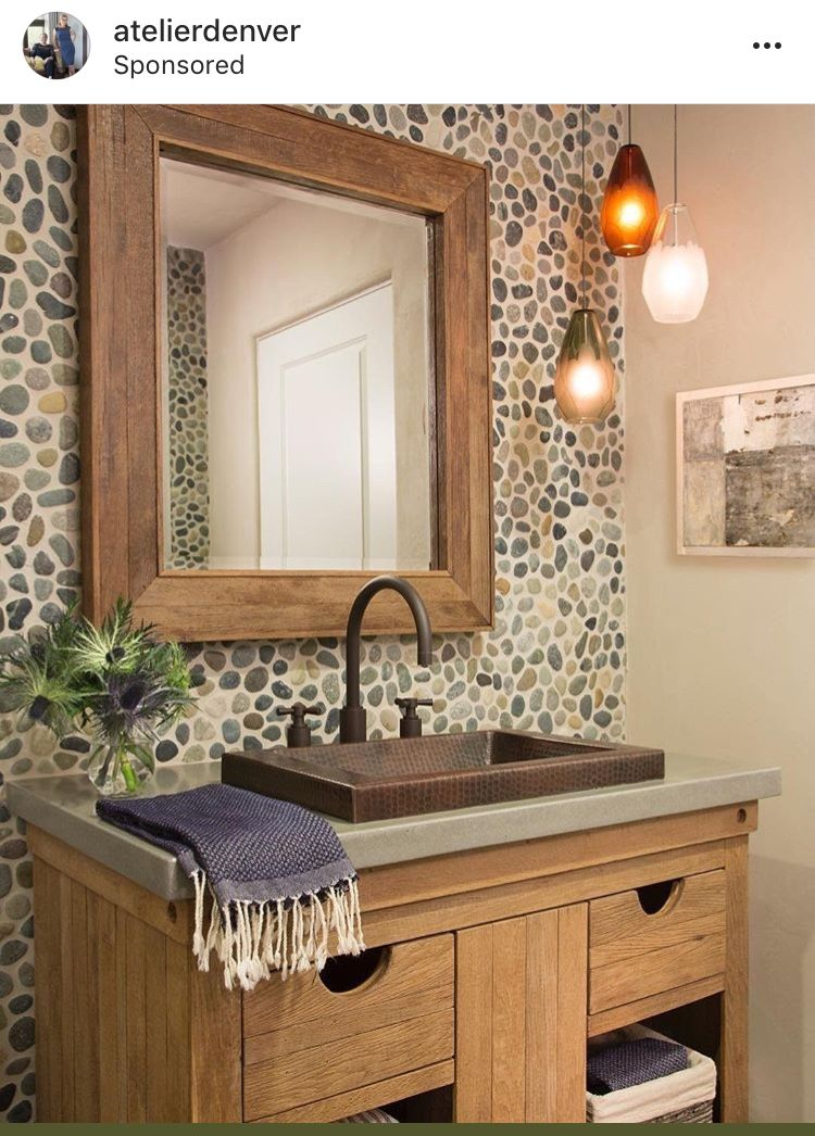 Powder Room By Amy Kartheiser Design: Image By Amy Bingham On House