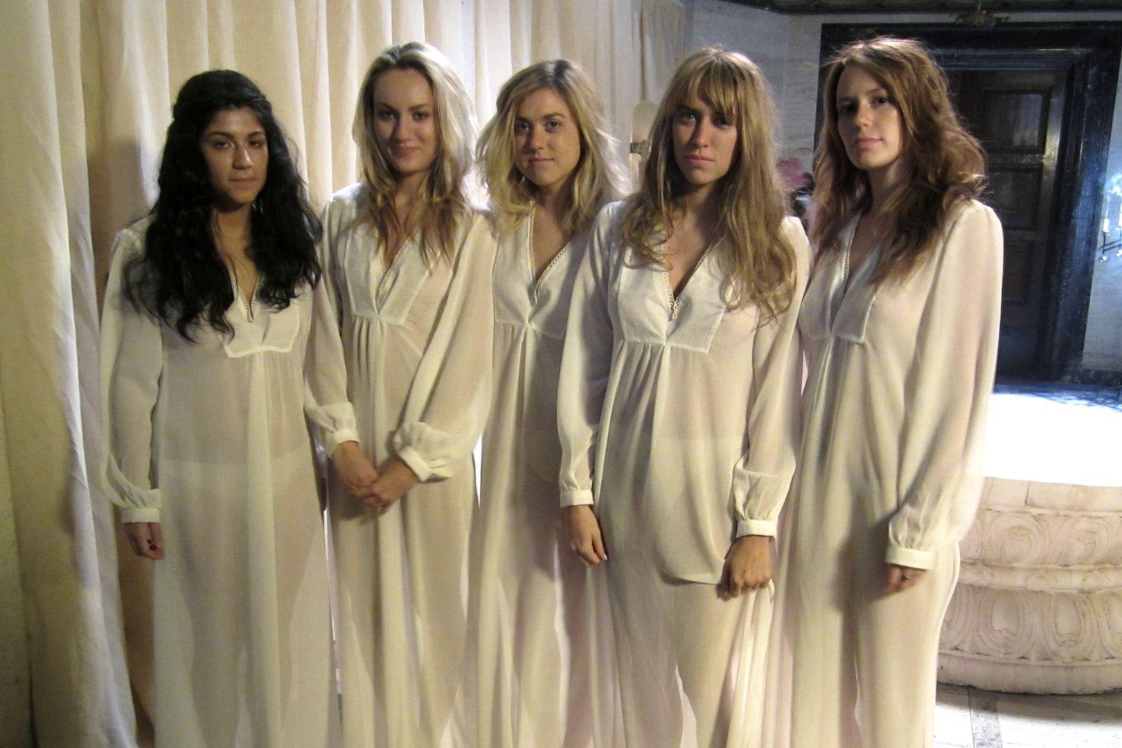 Marisha Ray Wedding.Our Sacrifical Virgins Cat Ferraz Anna Voropaeva Meghan Gibson