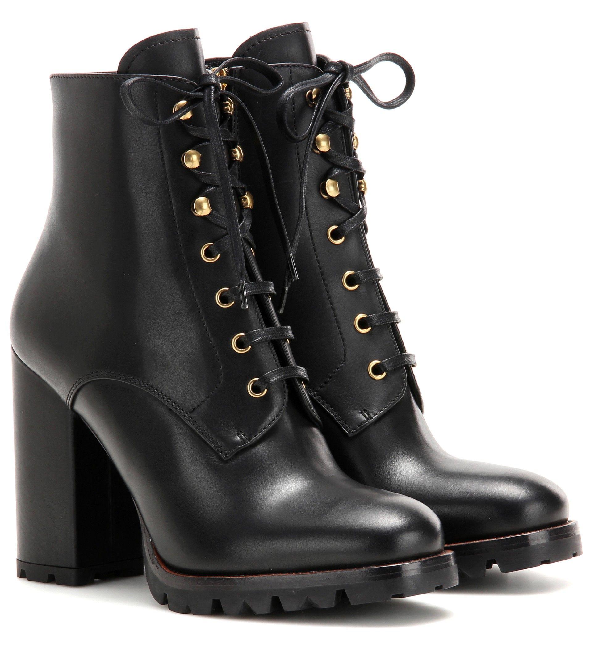 factory outlet online Prada Leather Moto Ankle Boots get to buy amazon cheap online sale 100% original clearance geniue stockist 68U1Qvs