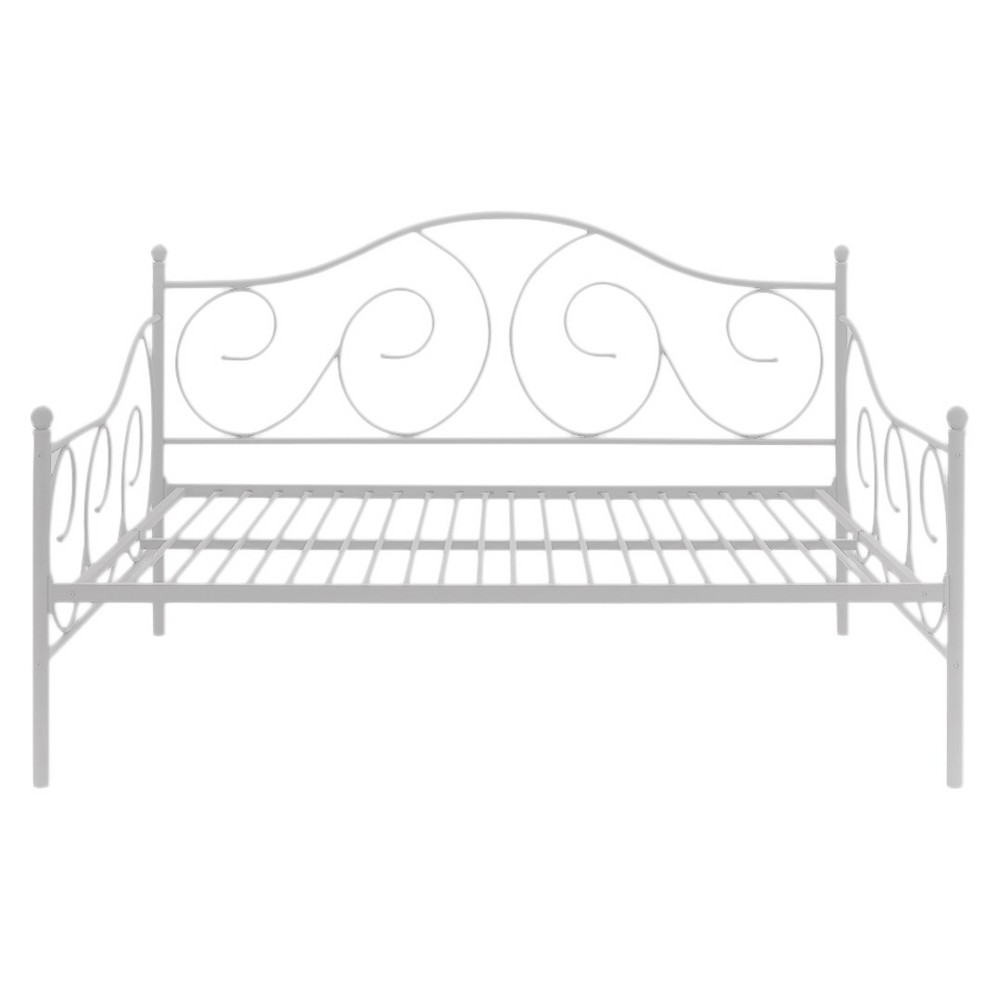 Victoria Metal Daybed Twin White Dhp