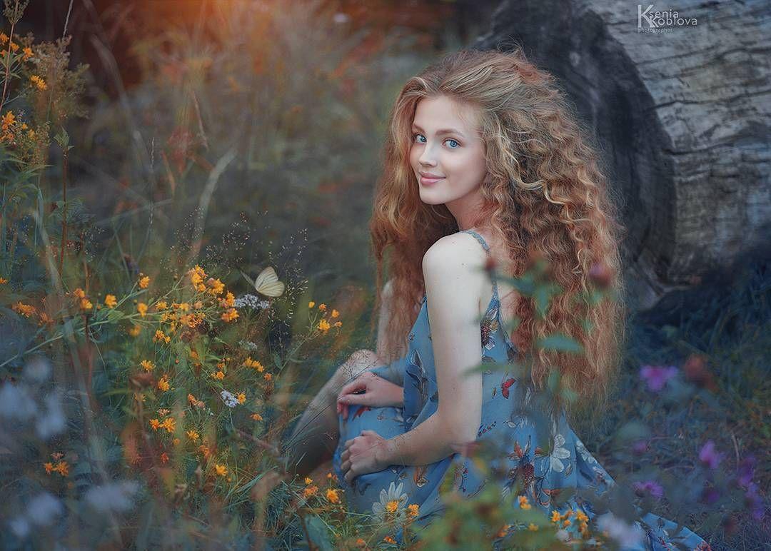 Мелодия стихии Фото Ксения Коблова Укладка макияж Ирина