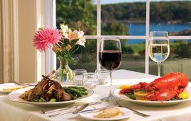 Love Maine lobster and local wine! www.VisitMaine.net