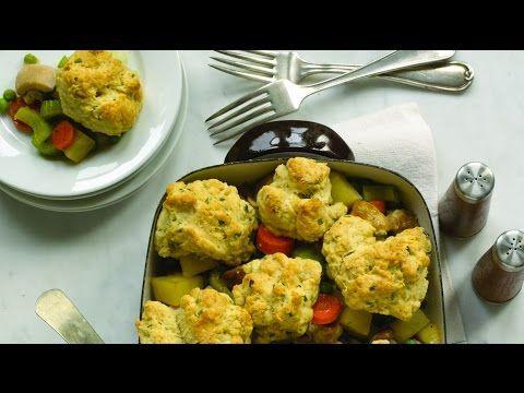 Chicken Pot Pie with Herbed Drop Biscuits - Jamie Geller - NBC Philly - YouTube