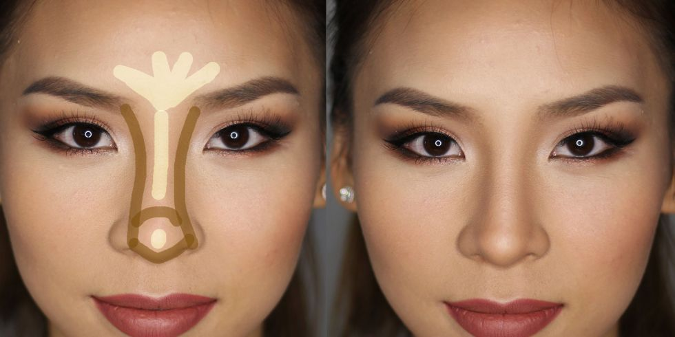 Remedios Caseros Top On Twitter Nose Makeup Nose Contouring Big Nose Makeup