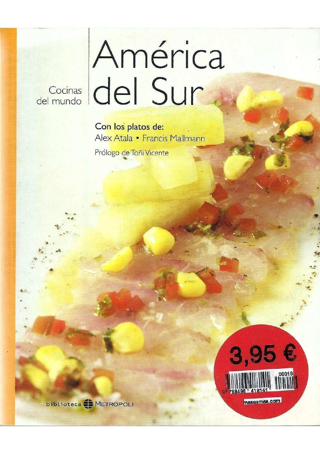 América del sur cookbook   Libros, Revistas y Libros de recetas