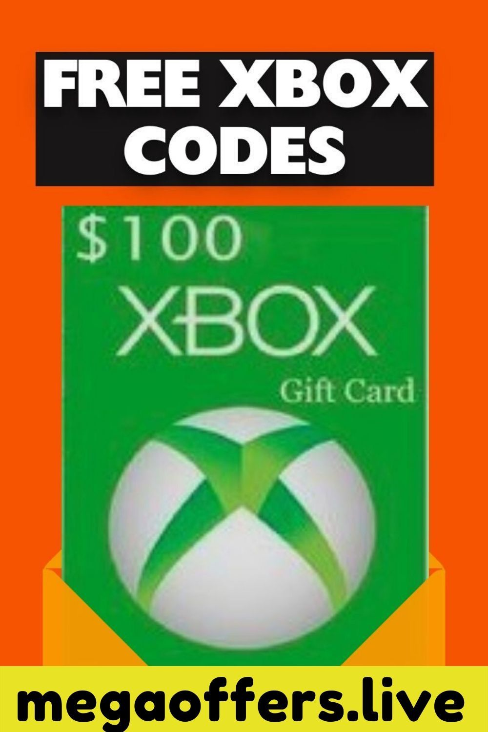 How To Get Free Xbox Gift Cards Free 100 Xbox Codes Xbox Gift Card Xbox Gifts Free Gift Card Generator