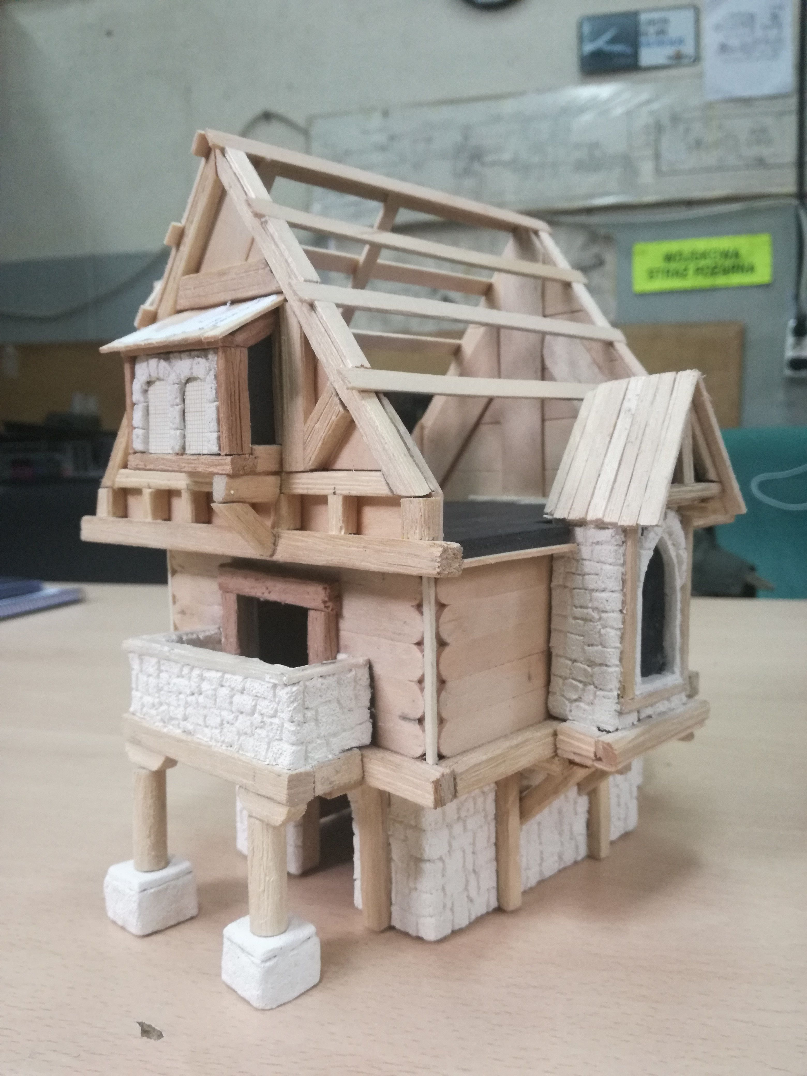 Pin by Pitchlink on tabletop gaming scenery | Simple house