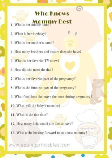 Baby Shower Games For Large Groups Baby Shower Checklist Baby