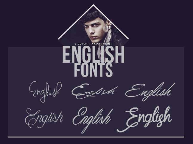 خطوط خطوط انجليزيه 2015 خطوط فوتوشوب 2015 English Fonts 2015 منتديات التحليه Lettering Fonts Lettering English Fonts