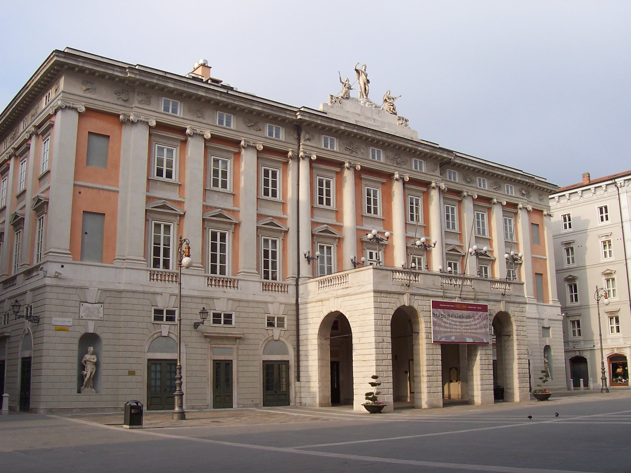 Teatro Verdi, Italy. I once sung here. :D