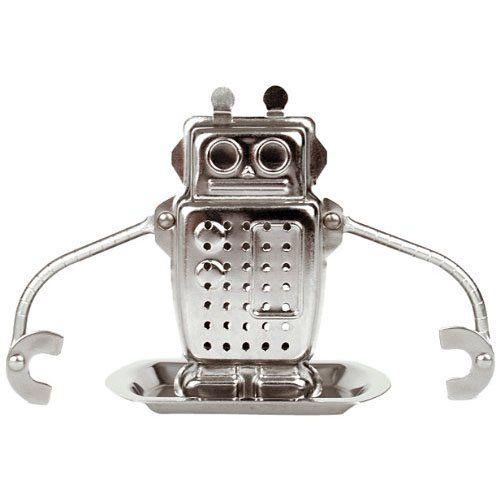 Infuseur à thé robot  http://www.homelisty.com/boule-a-the-55-infuseurs-a-the-super-originaux/