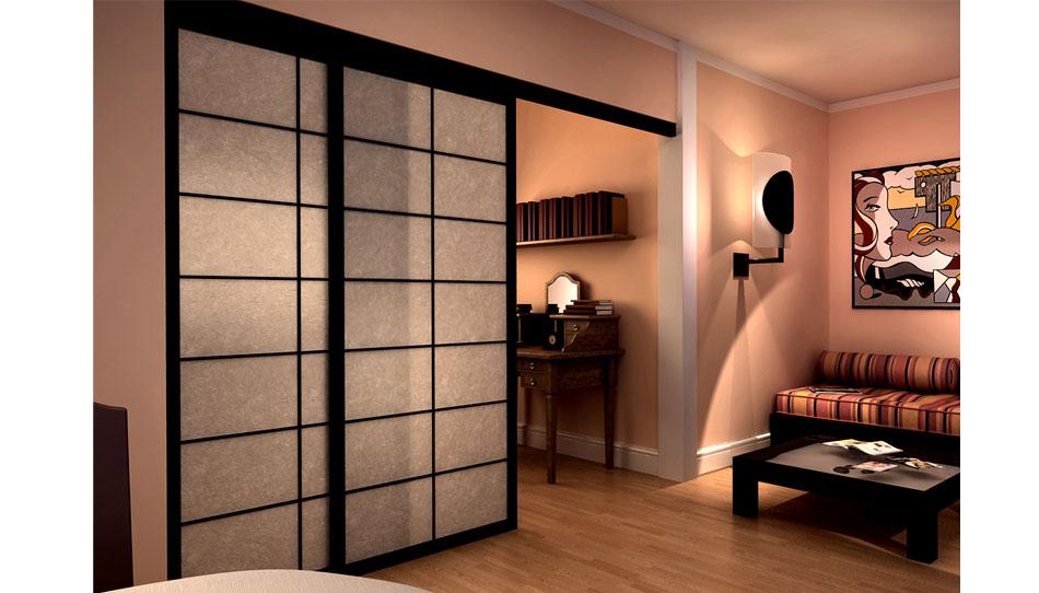Cinius pareti e porte scorrevoli shoji tradizionali giapponesi prodotte su misura anche per - Porte scorrevoli stile giapponese ...