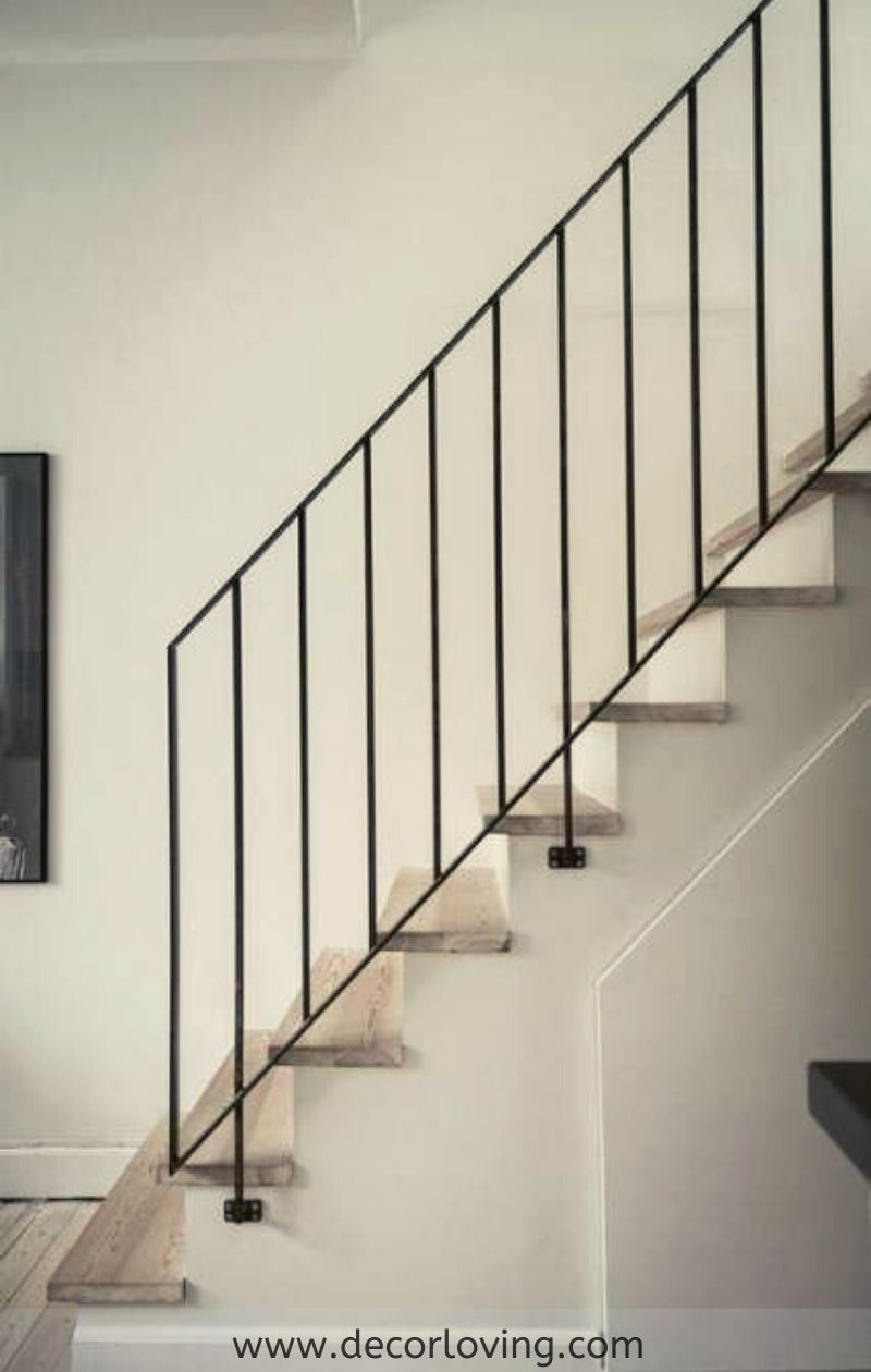 12 Best Stair Handrail Ideas For Home Interior Stairs In 2020