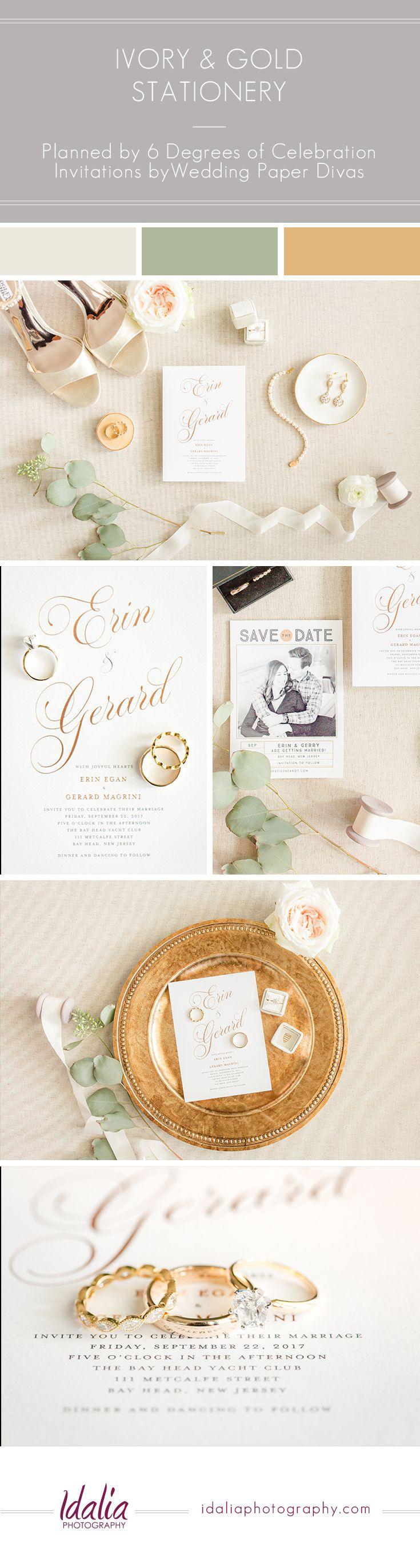 Wedding Invitation by Wedding Paper Divas