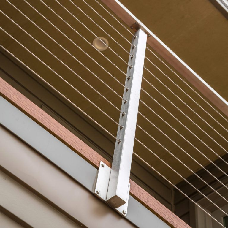 Side Mount Fascia Cable Railing Posts Stairsupplies Cable Railing Stainless Steel Cable Railing Stainless Steel Stair Railing