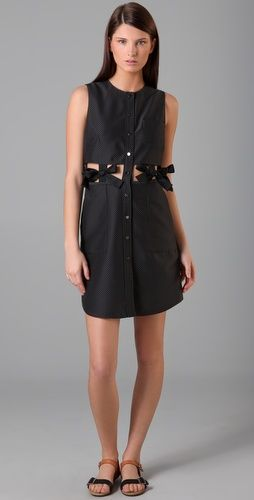 3.1 Phillip Lip Shirttail Dress with Bows