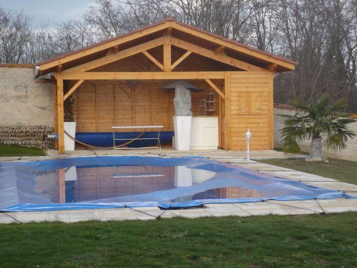 Pool Houses Un pool house fonctionnel avec local technique et - abri local technique piscine