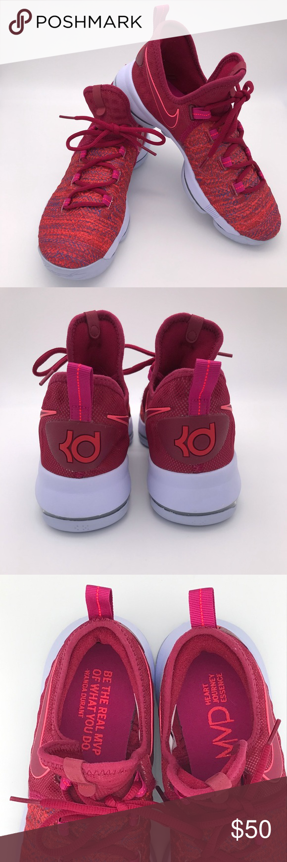 best service dd0f2 9a276 Nike youth zoom KD 9 EP racer pink IX size 7Y Nike youth ...