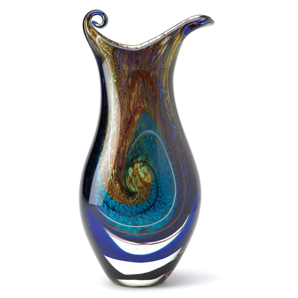 Galaxy Art Glass Vase from The Spinster's Shoppe. Saved to Things I want as gifts.