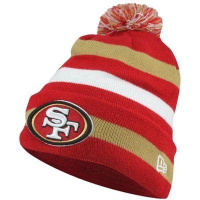 New Era San Francisco 49ers Sport Cuffed Knit Hat Scarlet Gold White 22 95 San Francisco 49ers 49ers Sf 49ers