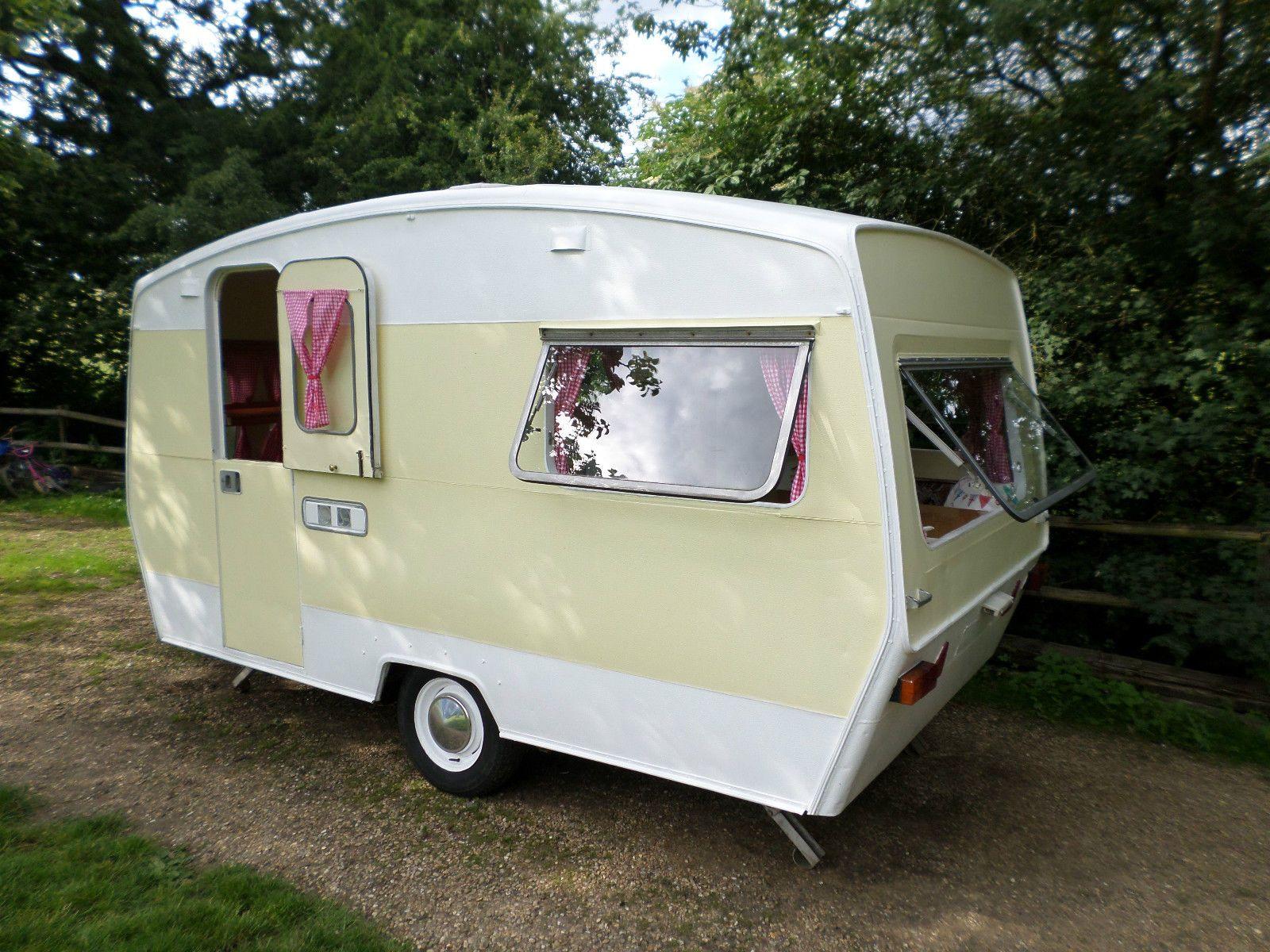Vintage 1970 Retro 4 Berth Sprite Alpine Classic Caravan Full