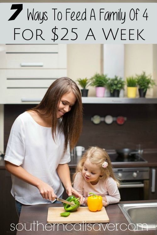 7 ways to feed your family for 25 a week smart money mom