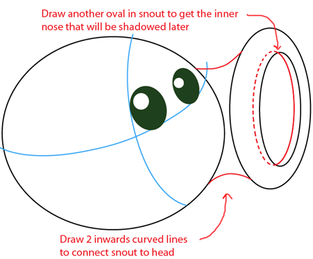 How to draw Pea Shooter from Plants vs. Zombies Game with ...
