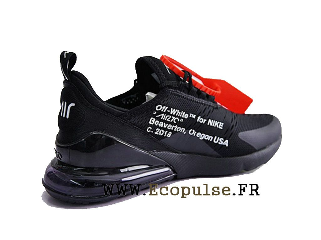 best service e7a0f e84aa ... closeout off white x nike air max 270 flyknit chaussure officiel nike  running prix pour homme